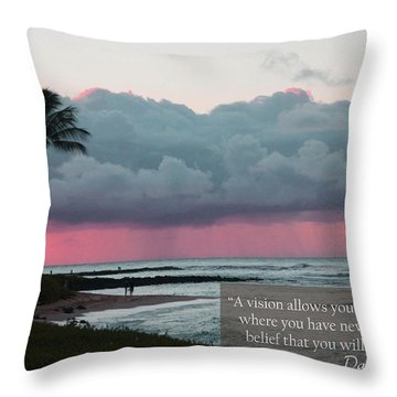 You Will Get There Throw Pillow by Dana Kern