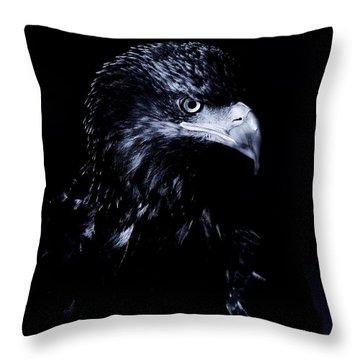 Young Eagle Throw Pillow