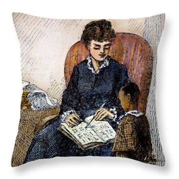 Young Frederick Douglass Throw Pillow by Granger