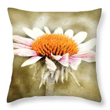 Young Petals Throw Pillow by Julie Hamilton