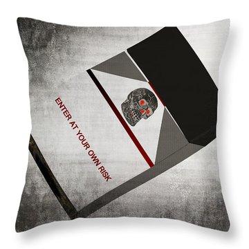 Your Choice Throw Pillow by Susan Leggett