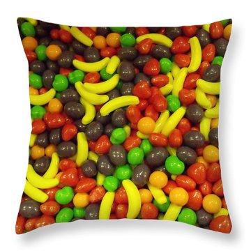 Yummy I Throw Pillow by Anna Villarreal Garbis
