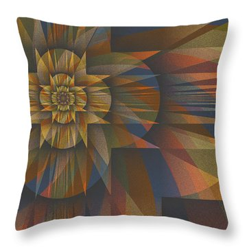 Z Divided By Z Minus 1 Throw Pillow by Mark Greenberg