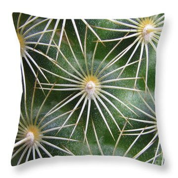 Throw Pillow featuring the photograph Zapped Photography by Tina Marie