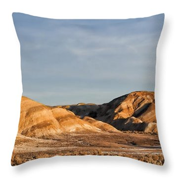 Throw Pillow featuring the photograph Ziebriski Point by Hugh Smith