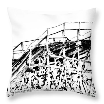Zippin Pippin Throw Pillow by Lizi Beard-Ward