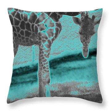 Zoo Life Throw Pillow