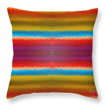 Zoolastic Throw Pillow by Bruce Stanfield