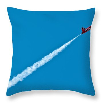 Zoom Zoom Zoom Throw Pillow