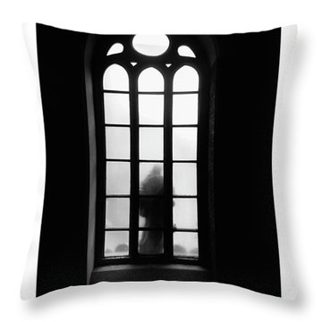 Exit Throw Pillow