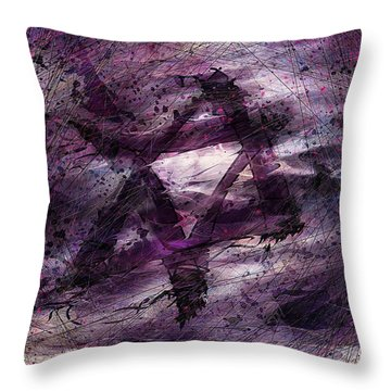 . . . When We Remembered Zion Throw Pillow by Rachel Christine Nowicki