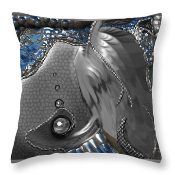 ' Fish Out Of Water ' Throw Pillow