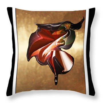 ' Spanish Dancer ' Throw Pillow