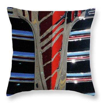 41 Chevrolet Emblem Throw Pillow