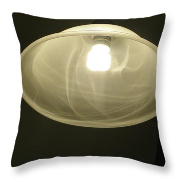 A Light Throw Pillow by Robin Coaker