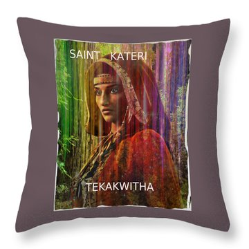 American Vision Throw Pillow