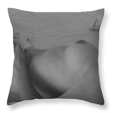 ... And Soul Throw Pillow