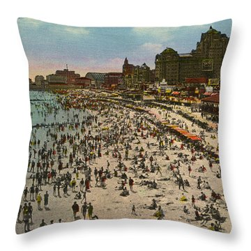 Atlantic City Spectacle Throw Pillow