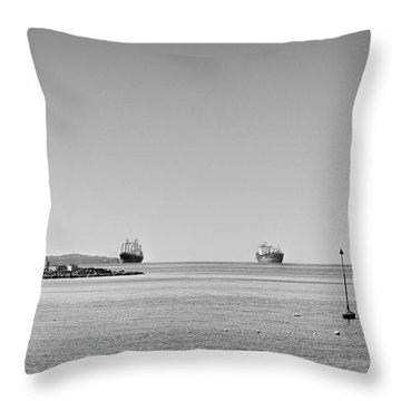 Bay  #2292 Throw Pillow