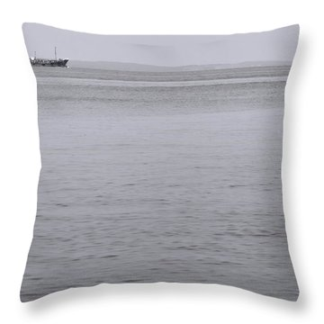 Bay  Throw Pillow