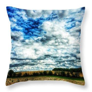 💙 Big Skies 💙 Throw Pillow by Vicki Field