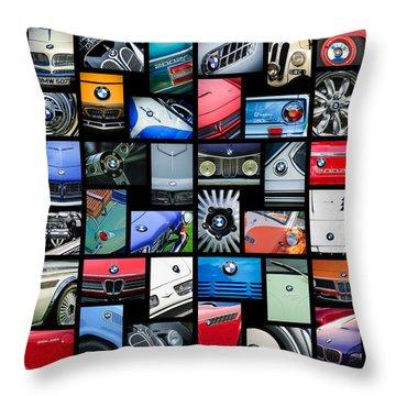Bmw Art -01 Throw Pillow