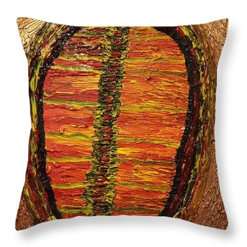 Convergence Of Nature Throw Pillow
