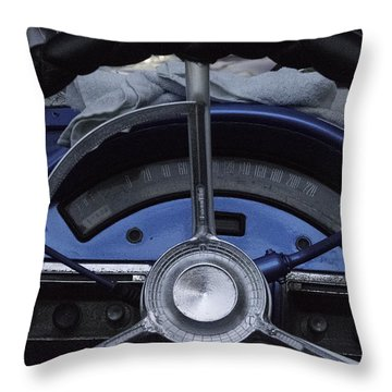 Cuba Car 6 Throw Pillow by Will Burlingham