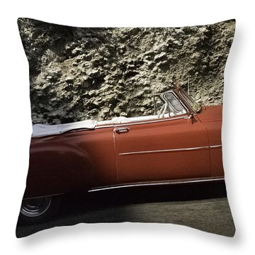 Cuba Car 7 Throw Pillow by Will Burlingham