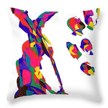 Definism Grind Throw Pillow