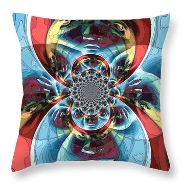 Different Perspectives  Throw Pillow