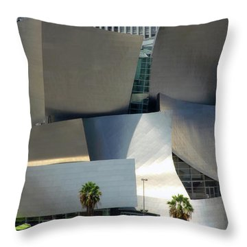 @ Disney Hall, Los Angeles Throw Pillow