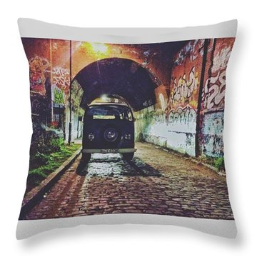 • Enjoy • • #wanderlust #wander Throw Pillow