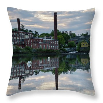 Exeter New Hampshire Usa Throw Pillow by Erin Paul Donovan