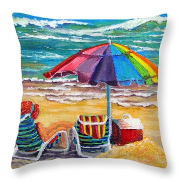 Fun In The Sun Throw Pillow