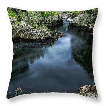 Glentrool Inky Pool New Galloway Throw Pillow
