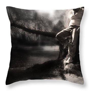 Throw Pillow featuring the photograph ... by Gray  Artus