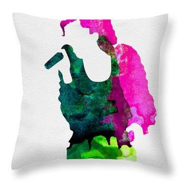Gwen Stefani Throw Pillows