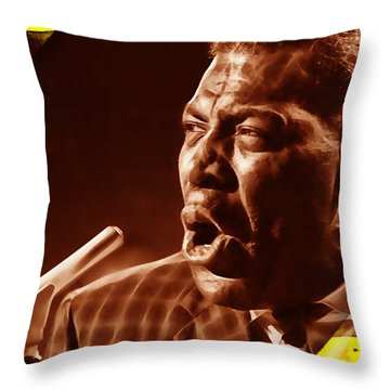 Howlin' Wold Collection Throw Pillow