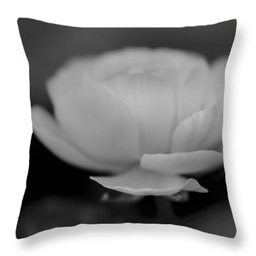 In Stillness Throw Pillow