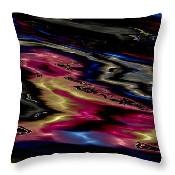 Las Vegas As Seen From The Air Throw Pillow by Heinz G Mielke