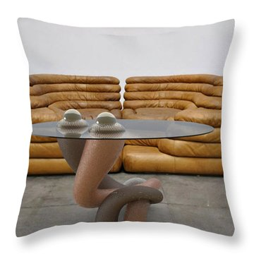 ' Lonely No More ' Throw Pillow