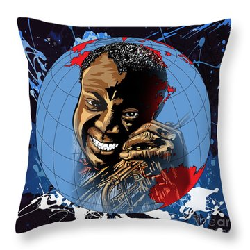 Louis. Throw Pillow