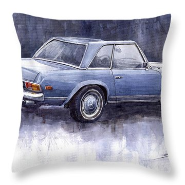 Mercedes Benz 280 Sl W113 Pagoda  Throw Pillow