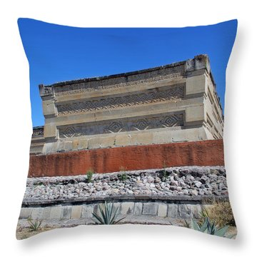 @ Mitla Oaxaca Mexico Throw Pillow