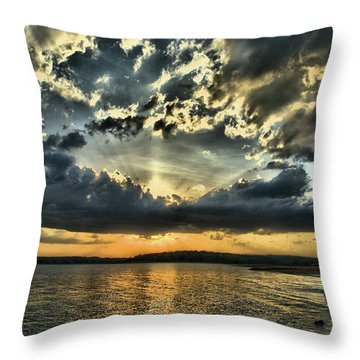 ... Never Walk Alone Throw Pillow
