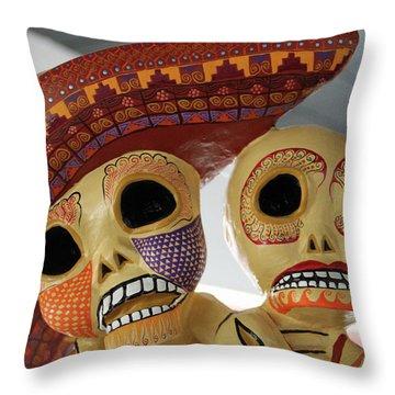 @ Oaxaca, Mexico Throw Pillow