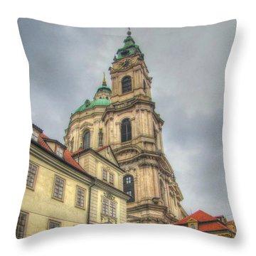 Praha Chehia Throw Pillow by Yury Bashkin