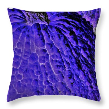 Purple Pumpkin By Jasna Gopic  Throw Pillow by Jasna Gopic