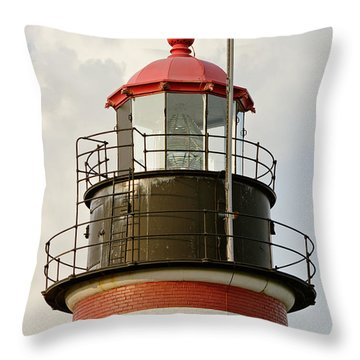 Quoddy Head Light Throw Pillow